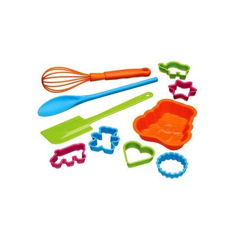 ustensiles de cuisine pour enfant set de 10 ustensiles de p 226 tisserie pour enfant kitchen craft
