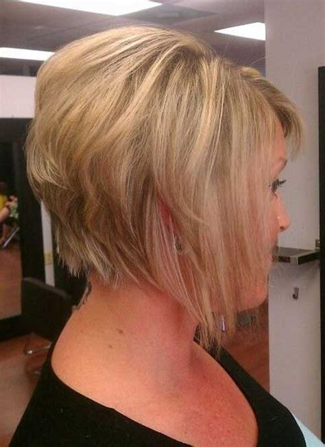 graduated bob from the back graduated bob for fine hair bob hairstyles 2017 short