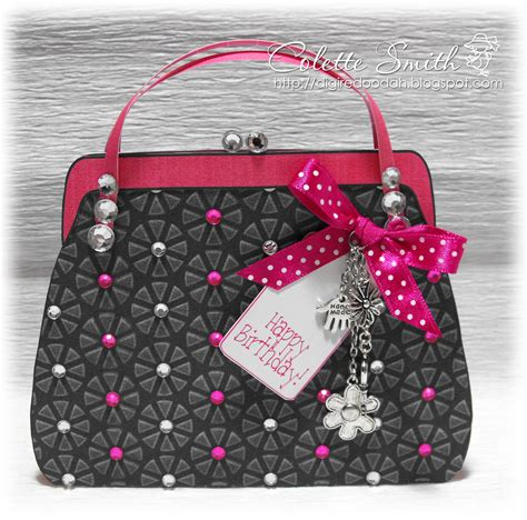card bag ideas colettes gorgeous handbag card