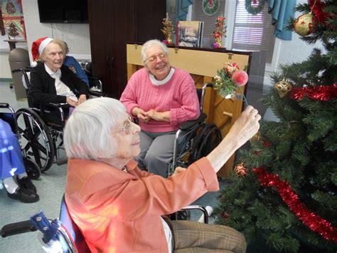 christmas nursing home the saratogian blogs saratoga county neighbors decorating the saratoga care nursing home