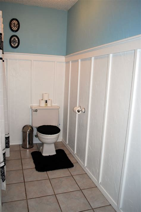 board and batten bathroom ana white board and batten bathroom diy projects