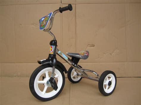 jual sepeda anak roda tiga bmx safari pmb crome  lapak