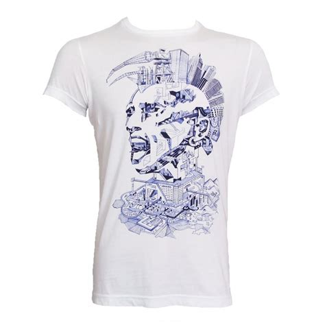 Shirt For Diesel T Shirt White Jerald Mens