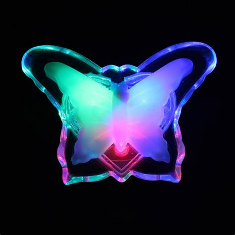 Buy Multicolor Led Electronic Night Light Butterfly L Led Light Multicolor