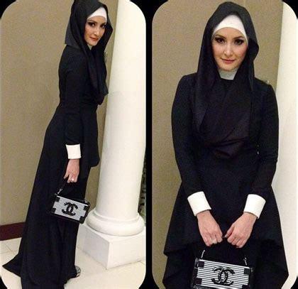 tutorial hijab inneke koesherawati hijab style gaya cantik dan elegan inneke koesherawati 4