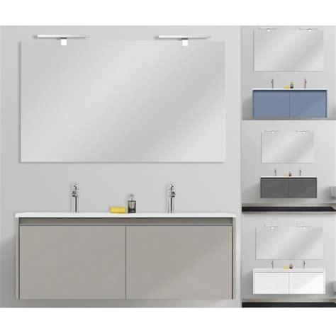 mobili bagno doppio lavandino arredo bagno stile moderno yang 120 cm sospeso doppio
