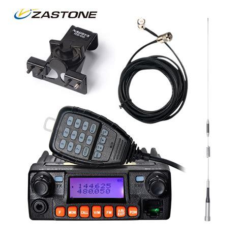 Walkie Talkie Cars Sale zastone mp320 car walkie talkie third band vhf uhf mini mobile radio hf transceiver two way ham