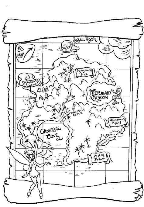 Treasure Maps Maps And Map Skills On Pinterest Treasure Map For Coloring