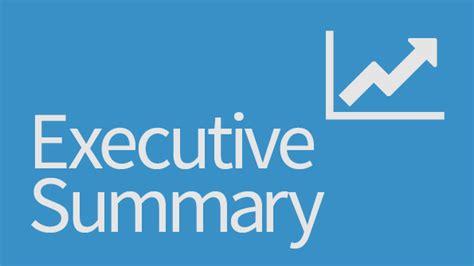 sip report executive summary