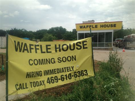 waffle house stone ave waffle house opens next month in oak cliff oak cliff