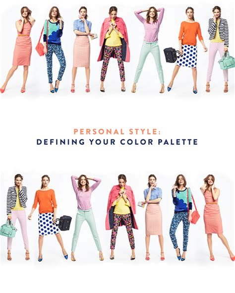 Colour Style by Personal Style Choosing A Signature Color Palettepencil
