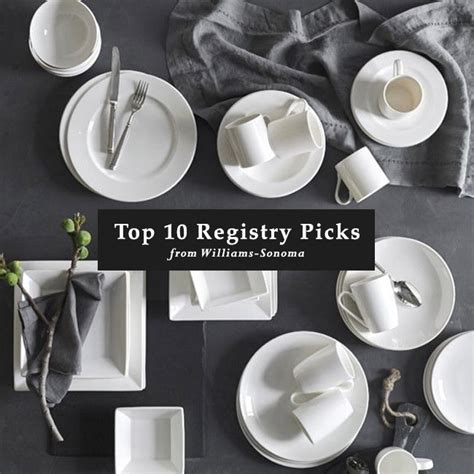 Our Top 10 Wedding Registry Items from Williams Sonoma