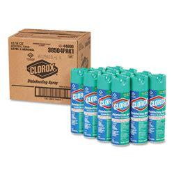 clorox disinfecting spray fresh oz aerosol carton coxct restockitcom