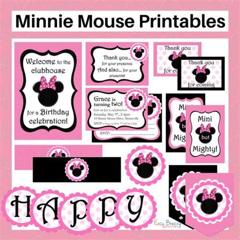 printable minnie mouse luggage tags minnie mouse printable set free customization