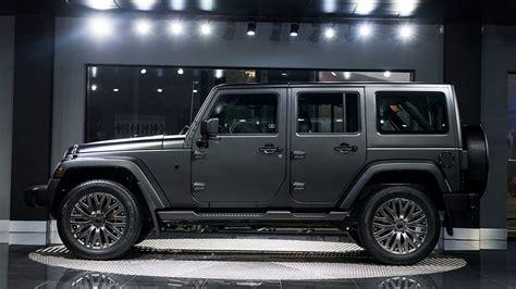 kahn jeep interior tuningcars kahn jeep wrangler shows up in volcanic rock