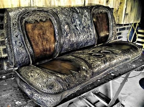 Custom Leather Upholstery For Cars by 17 Best Images About Tooled Leather Seats Seat