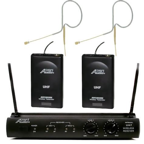 Special Hippo Dynamic Adaptor Only Adaptor Charger Dual Usb Output Or audio2000s 6032u630 uhf wireless microphone w 2 mini headset mic