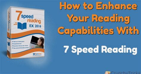 speed reading how to your reading speed and comprehension in less than 24 hours ã a scientific guide on how to read better and faster books how to enhance your reading capabilities with 7 speed reading