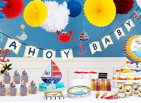 City Baby Shower Ideas by Nautical Baby Shower Ideas City
