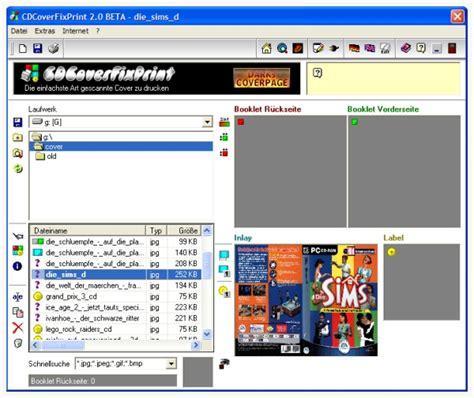 Label Drucken Programm Kostenlos by Cover Software Die Besten Kostenlosen Cover Programme