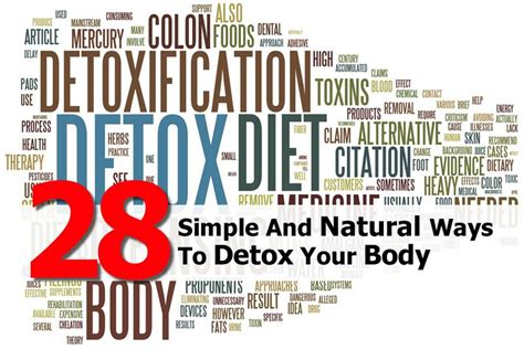 Top Ten Ways To Detox Your by 28 Simple And Ways To Detox Your