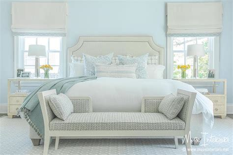 hellblaues schlafzimmer 30 relaxing powder blue bedrooms south shore decorating