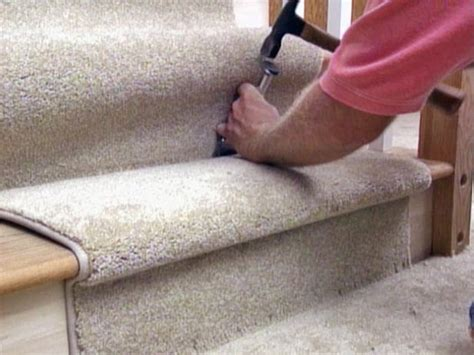 How To Install Rug by How To Install Carpet Tiles On Stairs