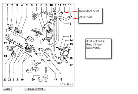 2000 jetta cooling system diagram 2000 jetta vr6 engine diagram wiring diagram with