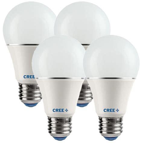 Led A19 9 5w 60w Equal 4 Pack Cree A19 60w 27k M4 Cree Led Light Bulbs Sale