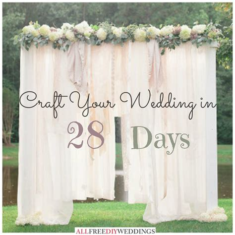 diy wedding photography national wedding month craft your wedding in 28 days