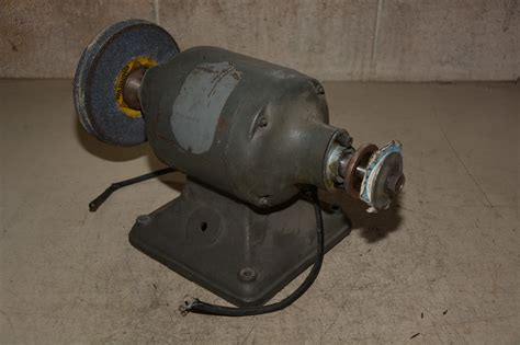 rockwell delta 7 quot double end grinder buffer body inv