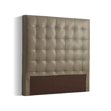 west elm leather headboard tall leather grid tufted headboard west elm