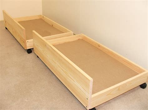 drawers for under bed under bed storage drawers set of two storage underbed draws