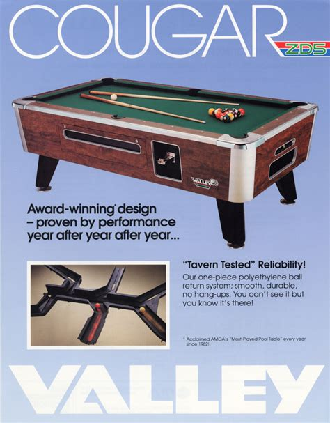 alfa img showing gt valley pool table