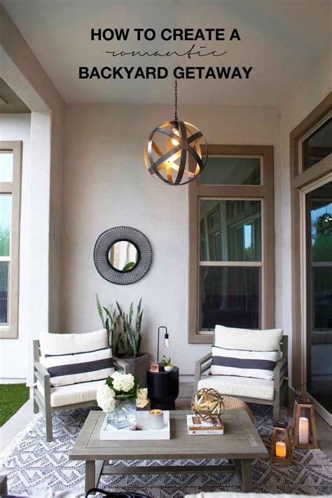 backyard getaway best 25 outdoor living spaces ideas on pinterest