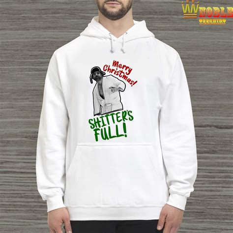 cousin eddie merry christmas shitters full shirt sweater long sleeved  hoodie