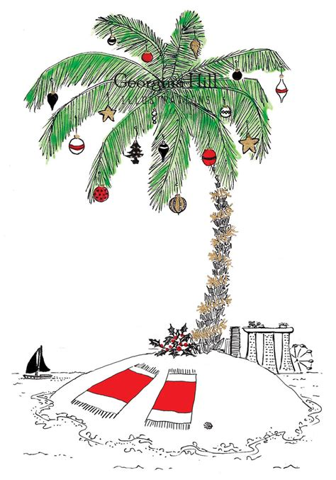 holiday palm tree clip art 4