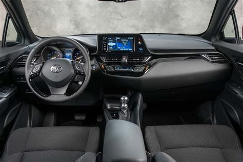 toyota chr interior 2018 toyota c hr first drive review motor trend