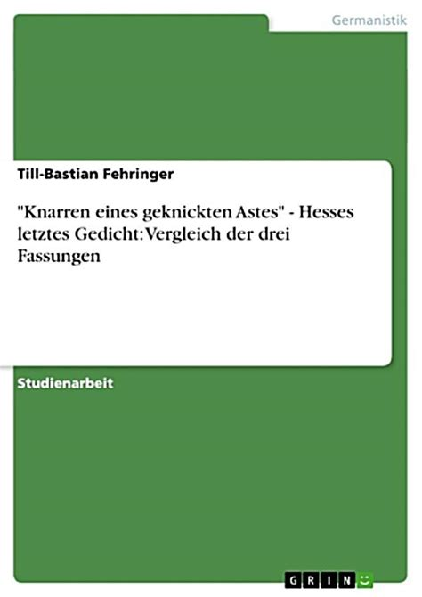 ebook dateiformat knarren eines geknickten astes hesses letztes gedicht