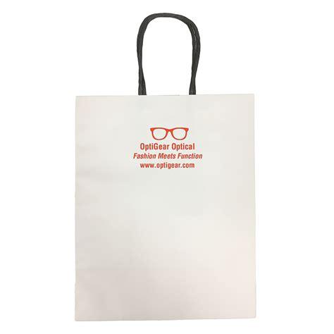 Jump From Paper Bags Jp 001 white kraft paper bag imprinted office supplies custom imprinting