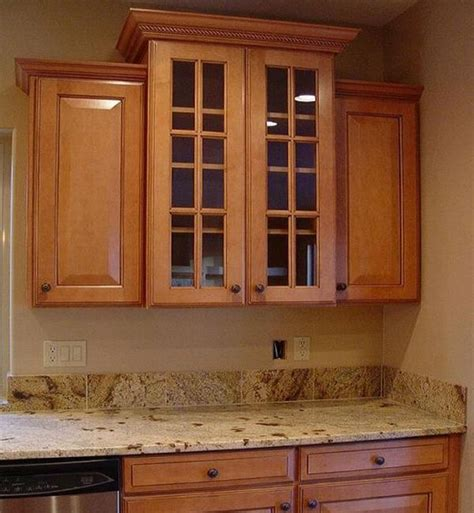 kitchen cabinets with crown molding add crown molding to kitchen cabinets kitchen clan