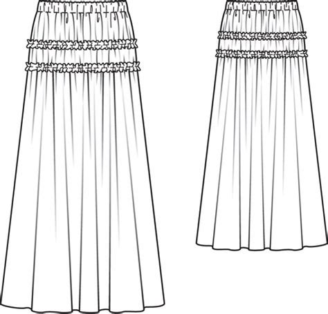Home Design Drafting Software romantic maxi skirt 01 2012 117 sewing patterns