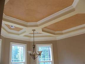 How To Paint A Tray Ceiling Home Design Tray Ceiling Ideas On Tray Ceilings