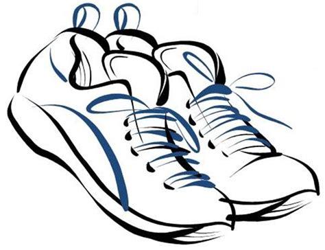 clip tennis shoes clipart clipart suggest