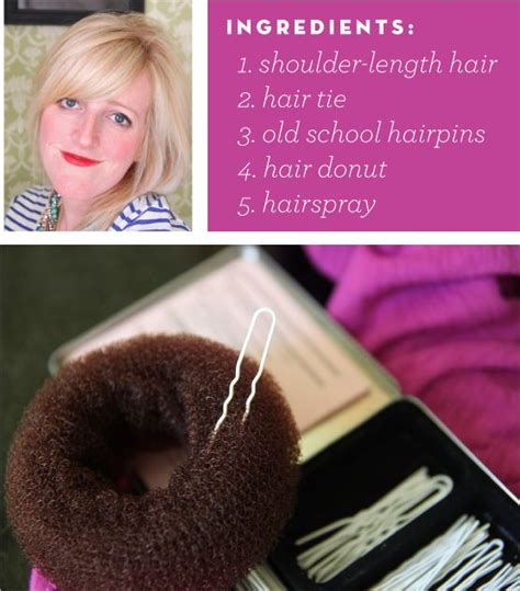 different ways to use donut bun 1000 images about hair style shoulder length on