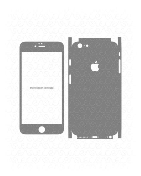 iphone 4s skin template vinyl ready vector cut file templates for phone skins in