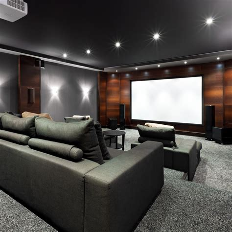 home theater and media room design ideas