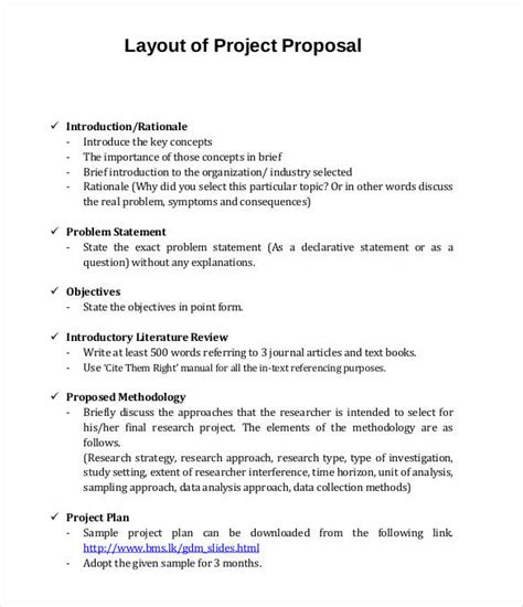 layout project proposal project proposal template 56 free word ppt pdf