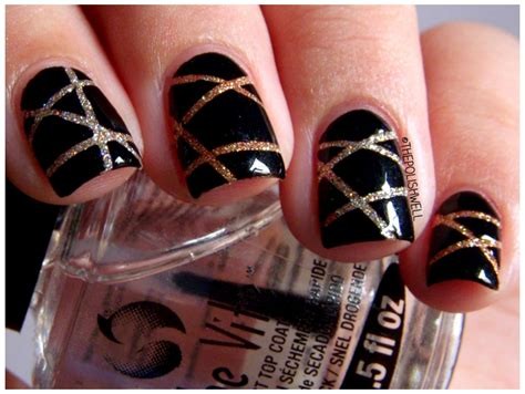 new year nail design best new years 2017 diy nail design ideas