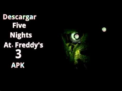 descargar five nights at freddy s 3 apk
